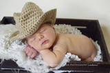 Tan Baby Cowboy Hats (Set of 2)