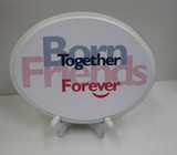Born Together Friends Forever Plaque with Stand