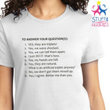 Triplet Questions Shirt