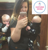 TwinTrexx 2 Twin Baby Carrier