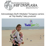 The International Hip Dysplasia Institute Acknowledges Stuff 4 Multiples' Twingaroo Carriers As Hip Healthy Products!