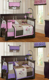 Pink and Purple Blossom 20 Piece Nursery Set