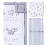 Aztec Forest 3 Piece Crib Bedding Set