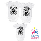 We Have A Fuzzy Daddy Shirt Set For Triplets