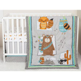 Lodge Buddies 3 Piece Crib Bedding Set