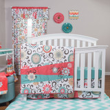 Waverly® Pom Pom Play 4 Piece Crib Bedding Set