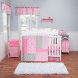 Lily 3 Piece Crib Bedding