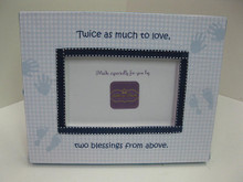 Two Blessings From Above Picture Frame