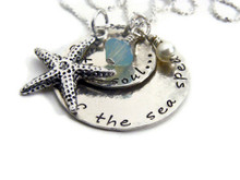 Quotes of the Sea Necklace