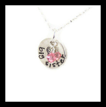 Personalized Big Sister Necklace