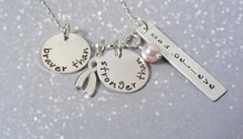 Braver Than\Stronger Than You Believe Necklace