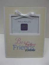 Born Together Friends Forever Frame for Twins- Personalized