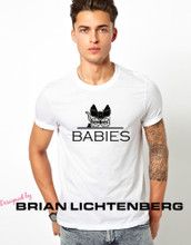 Babies Adult Shirt by Brian Lichtenberg