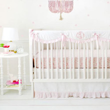 Pink Woodland Crib Rail Cover Set | Born Wild in Pink Collection