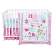 Tropical Tweets 3 Piece Crib Bedding Set