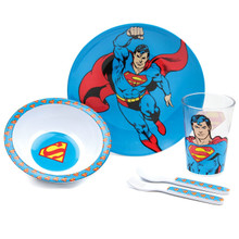 Superman Mealtime 5 Piece Set