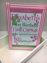 Pink and Green Time Capsule