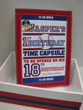 Baseball Themed Time Capsule