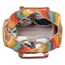 Waverly® Panama Wave Adobe Carryall Diaper Bag
