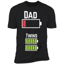 Tired Twin Dad Shirt