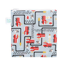 Reusable Snack Bag, Large: Fire Engine