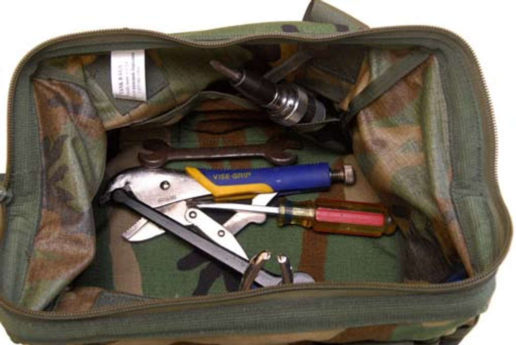 Tools pictured not included.