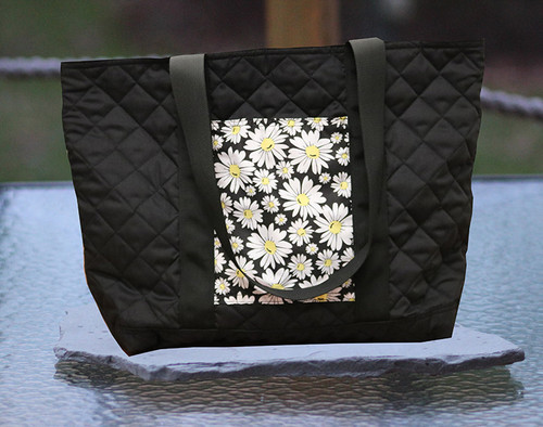 Sorority Quilted Tote Bag