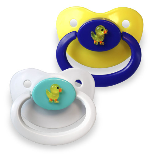 Rubber Ducky Adult Pacifier