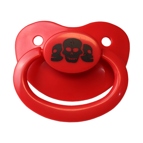 Cursed Skull Adult Pacifier
