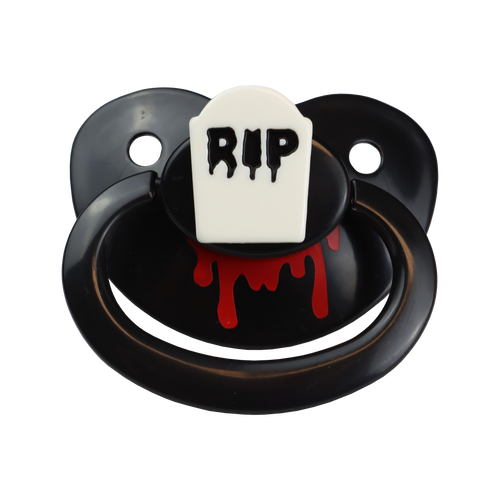 Bloodied Tombstone Adult Pacifier