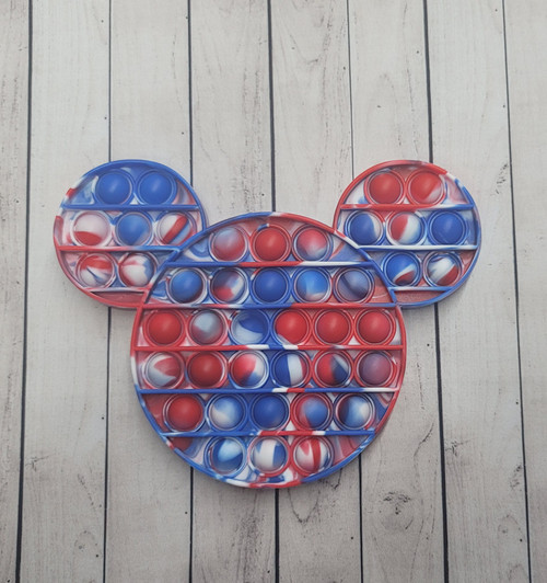 Mouse Red Blue pop it