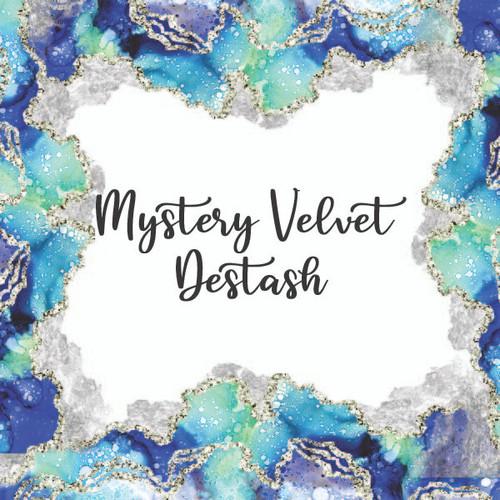 Mystery velvet Destash Yard