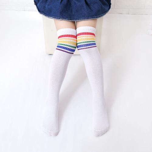 Stripe Knee Highs