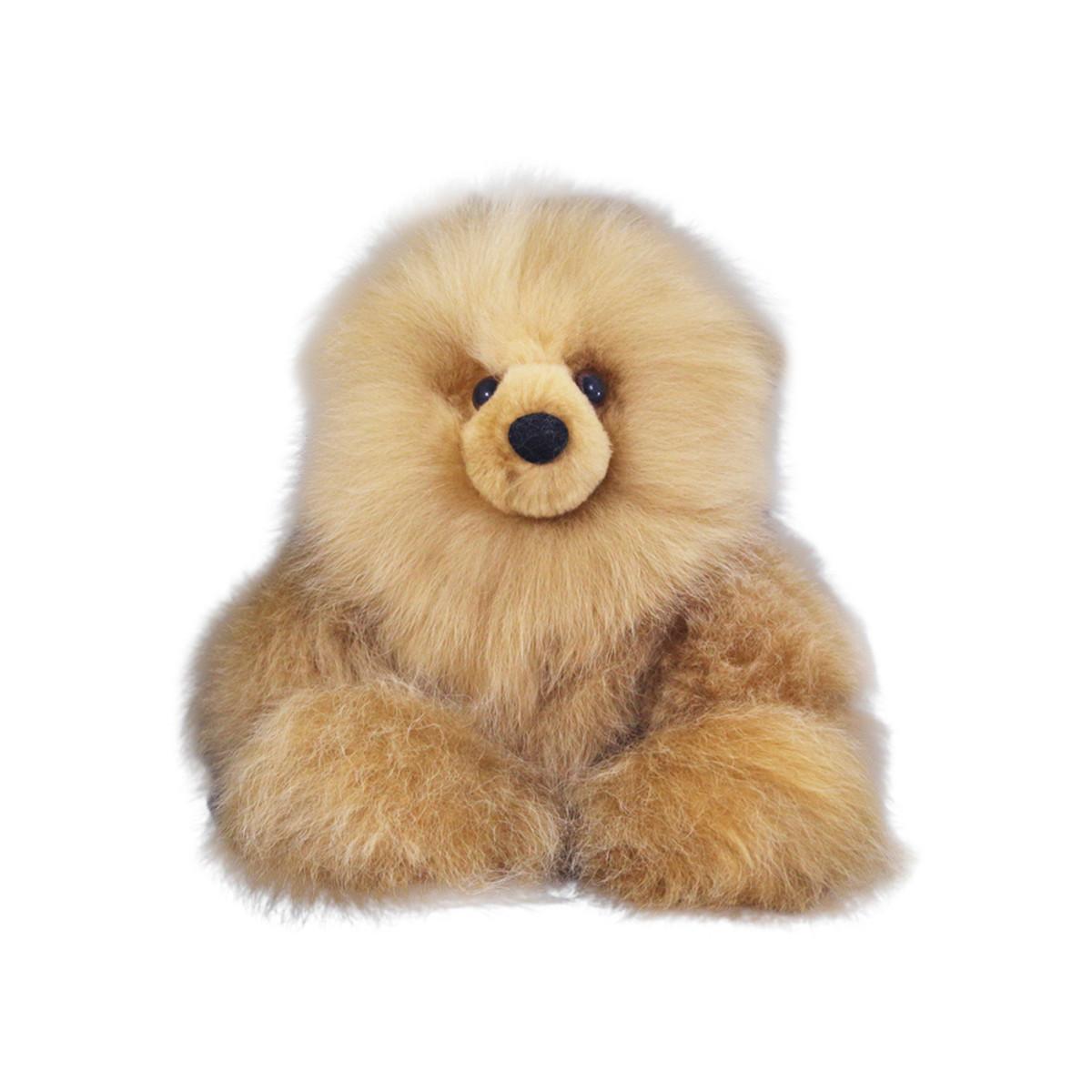 Superfine 100 Baby Alpaca Fur Stuffed Artist Teddy Bear 11 22b
