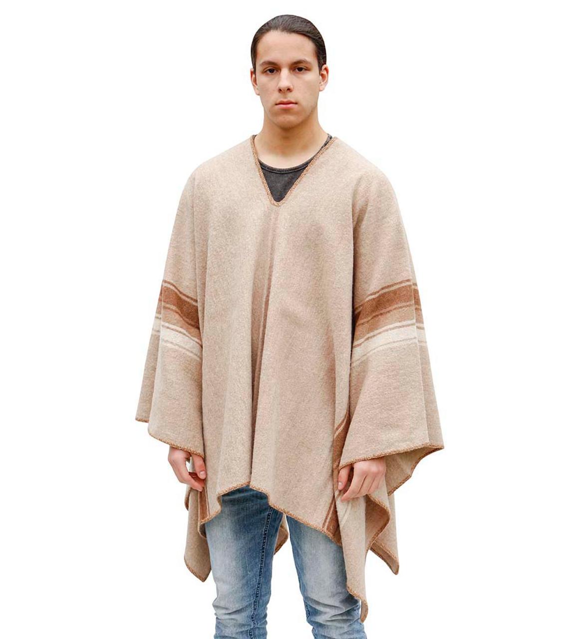 Wool Poncho