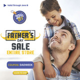 Father's Day Sale! 30% OFF Entire Store!