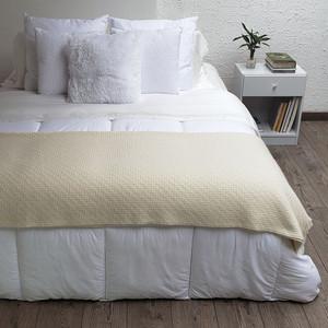 Eco Thick & Thin Alpaca Merino Wool Blanket