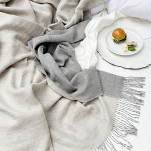 Biface Baby Alpaca Silk Throw