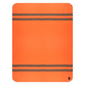 Orange - Dark Brown Stripes