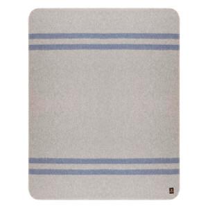 Soft Gray - Denim Blue Stripes