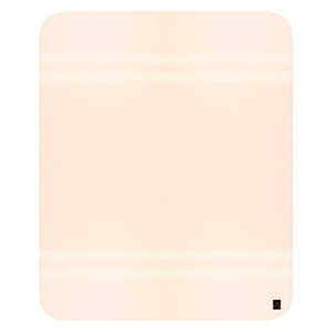 Baby Pink - Ivory Stripes