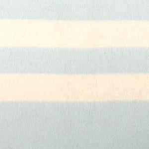 Light Sky Blue - Ivory Stripes