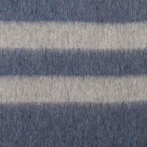 Blue Jean - Soft Gray Stripes