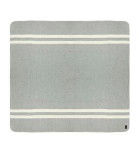 Soft Gray - Ivory Stripes