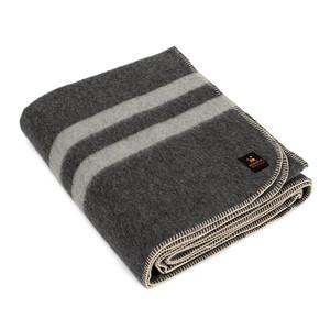 Dark Gray - Soft Gray Stripes