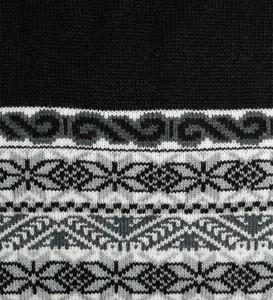 Black/Gray/Ivory