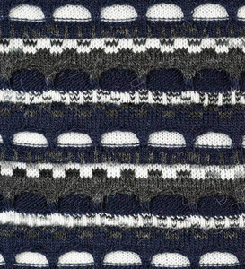 Navy Blue/Charcoal Gray/Ivory