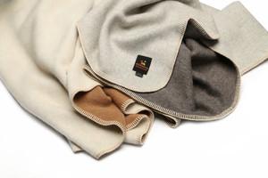 The Bare Eco Blanket- Dye-Free 100% Baby Alpaca Blanket- Twin Size