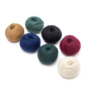 Baby Alpaca Merino Yarn Wool Set of 3 Skeins Worsted Weight