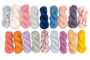 Kinua - 100% Handspun Fine Peruvian Junin Wool Yarn Botanically Dyed 100g Bulky Weight